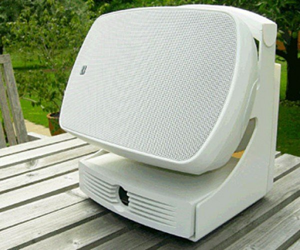 Russound AirGo Outdoor Speaker Extends Your Wi-Fi Network to Your Backyard