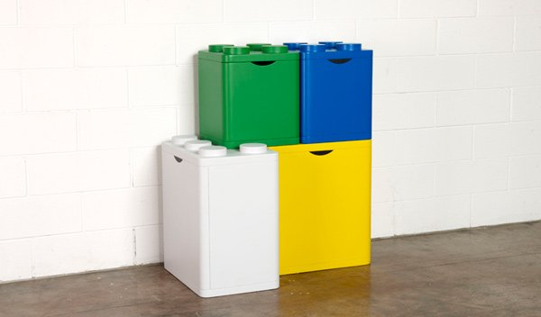 lego bins storage recycling flussocreative italian