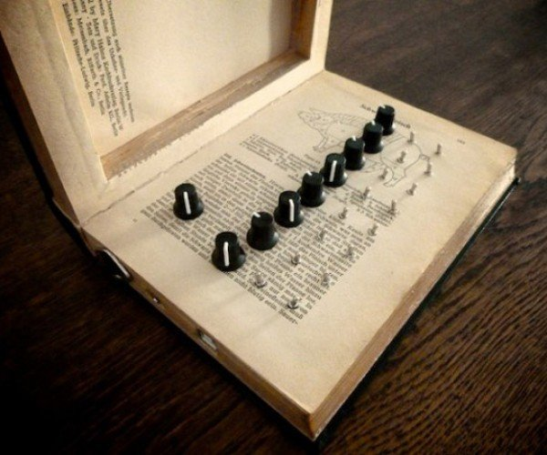 Unlikely Recycling: Book into Synthesizer