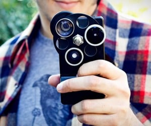 iPhone Lens Dial Case: Ugly and Expensive, Still Cool for iPhone Camera Addicts