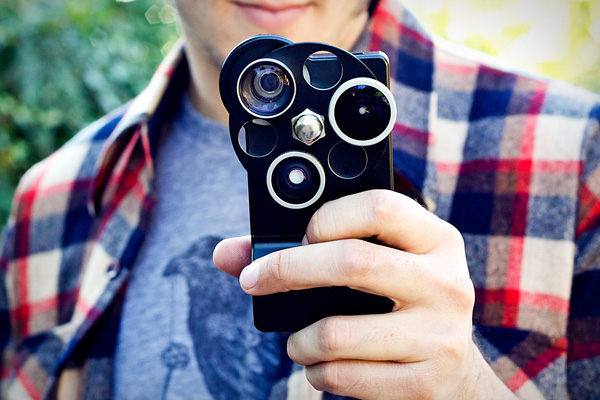 iphone 4 4s lens dial photojojo attachment photo camera