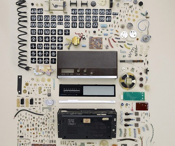 Todd McLellan's Disassembly Breaks Retro Tech Down Into Its Tiniest Components