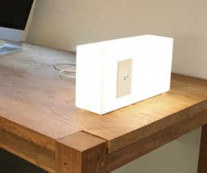 American Standards Lamp Has Its Own Wall Switch and Outlet