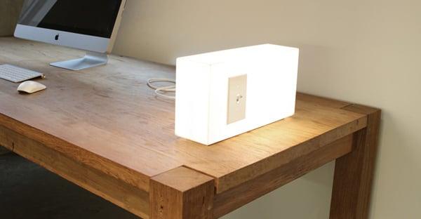 peter bristol american standard lamp light fun strange switch