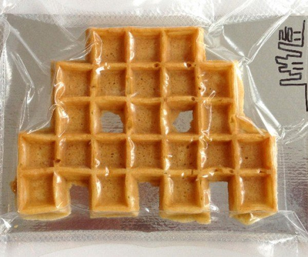 Space Invaders Waffle: They're Invading Breakfast, Is Lunch Next?