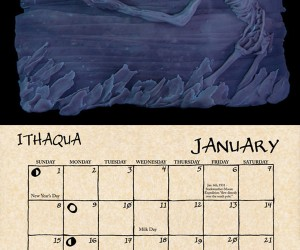2012 cthulhu mythos calendar by daupo 2