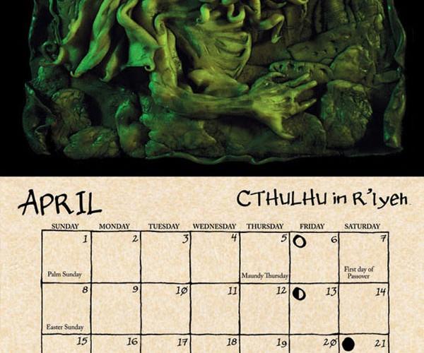 2012 cthulhu mythos calendar by daupo 3