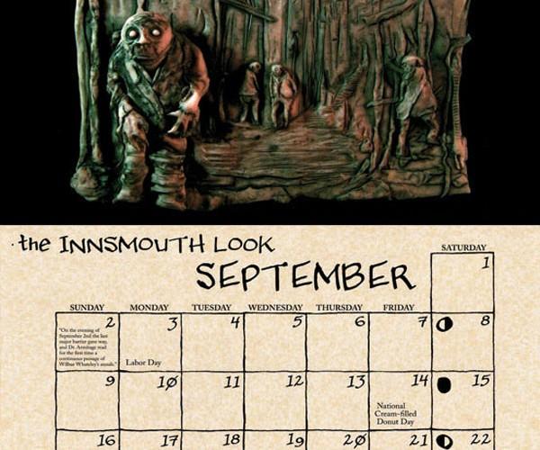 2012 cthulhu mythos calendar by daupo 4