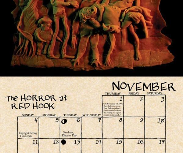 2012 cthulhu mythos calendar by daupo 5