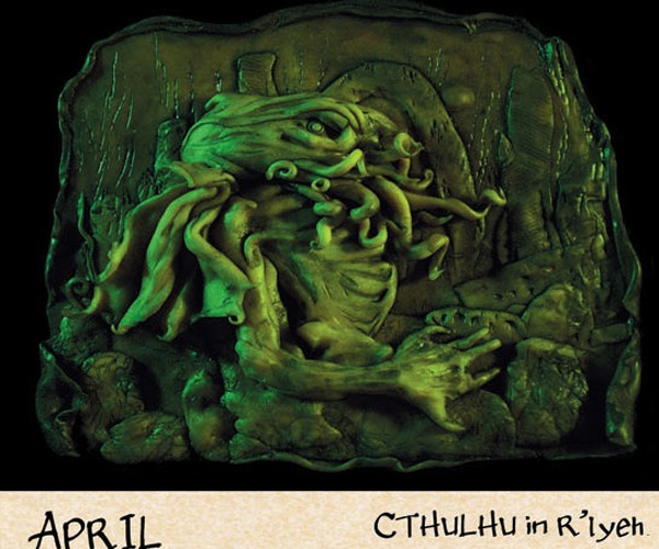 2012 Cthulhu Mythos Calendar: Go Insane Before the World Ends