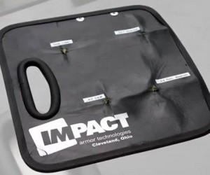 Ballistic Clipboard Can Stop a Bullet in Its Tracks