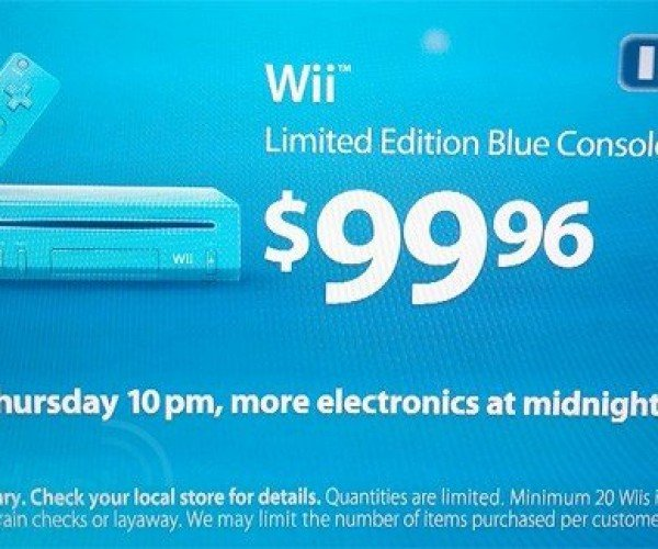 Get a Blue Wii Before Black Friday