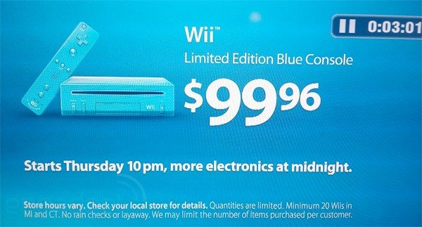 Get A Blue Wii Before Black Friday Technabob