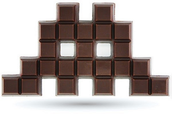 Chocolate Invader