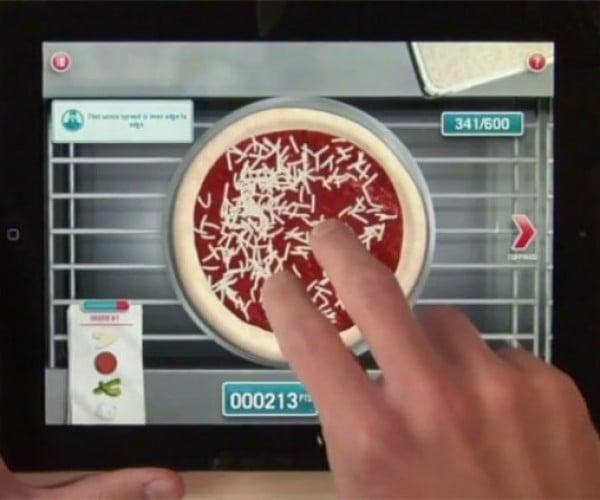 Domino's Pizza Hero iPad App: You Make It, They Bake It