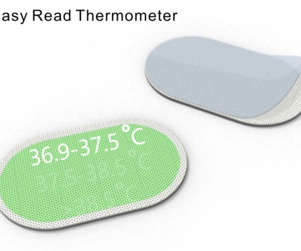 Easy Read Thermometer: Just Slap It On and Read the Temperature Off