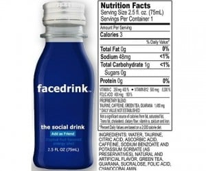 "Facedrink ""Social Drink"" Gets in Facebook's Face"