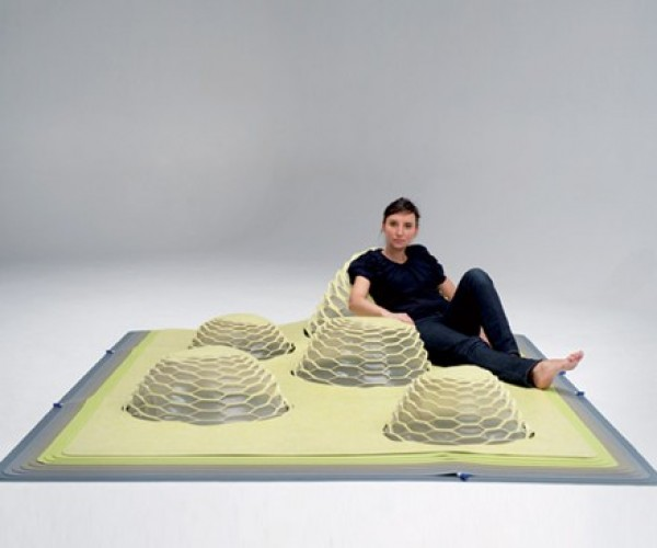 Hilly Inflatable Flooring Wants to Trip You Up, Ain't Just for Hillbillies