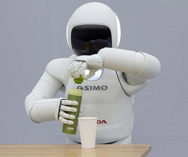 Honda's New ASIMO Robot Shows Off