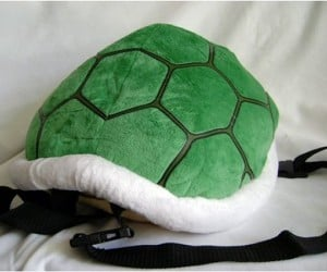 Koopa Shell Backpack: Don't Let Mario Kick You Around