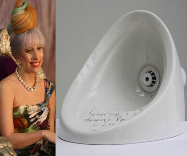 Lady Gaga's $460,000 Urinal (Say What?)