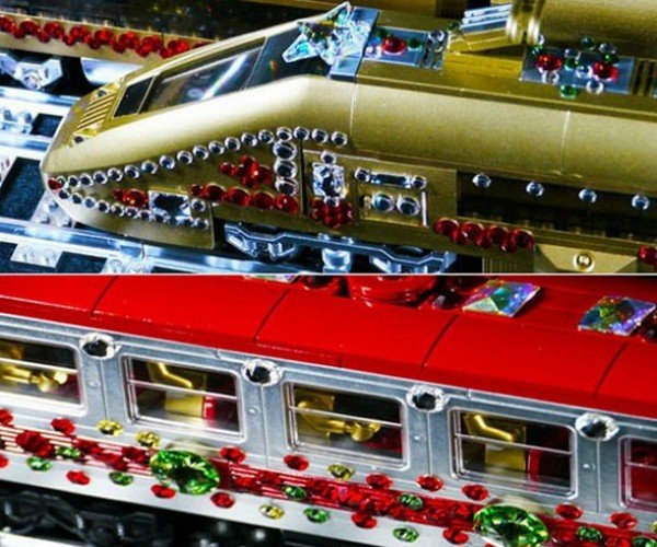 Crystal LEGO Holiday Trains: Toys for the 1%