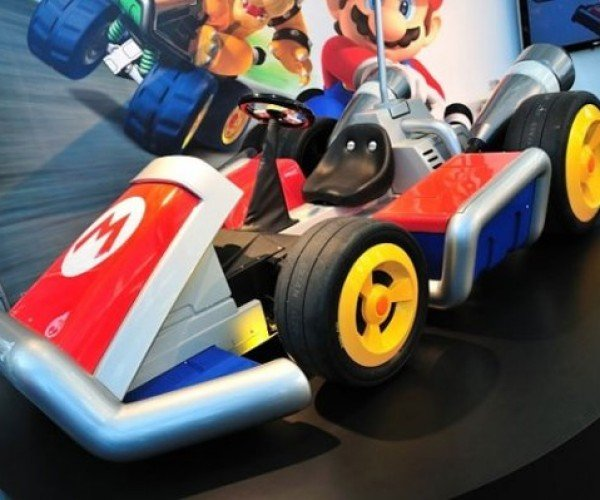 Nintendo Builds Life-Sized Mario Karts, Turtle Shells Will Fly