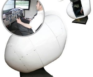 OVO-4 Home Flight Simulator is a $57,000 Nerd Capsule