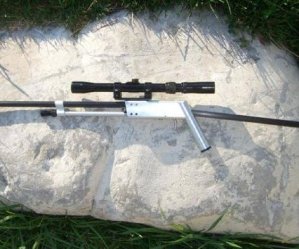 Pack Rifle Gun and Fishing Rod Combo: If You Like Shooting Fish in a Barrel