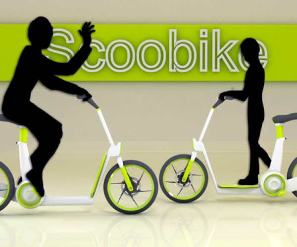 Scooter + Bike = Scoobike