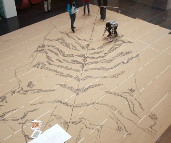 Tiger Skin Rug Made From 500,000 Cigarettes