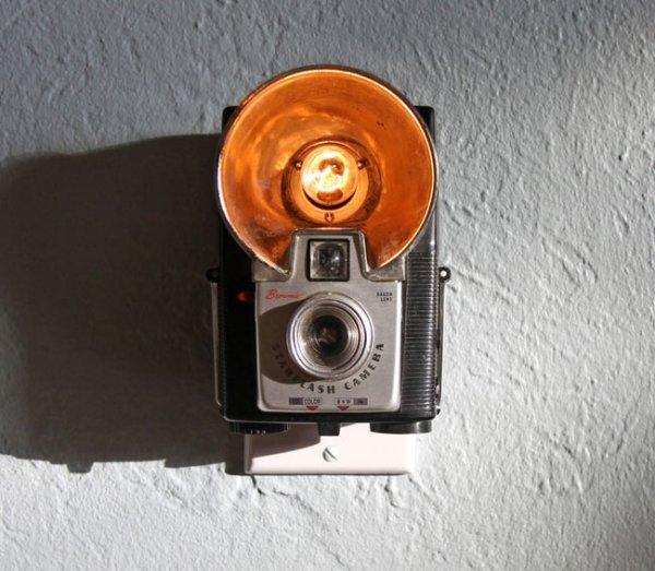 Vintage Camera Night Lights