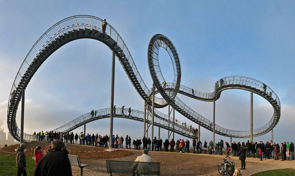 Walking Roller Coaster