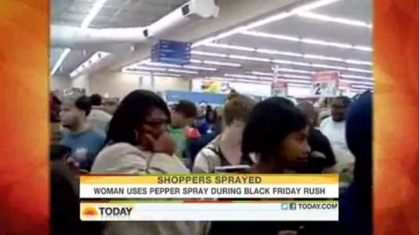 Walmart Black Friday Pepper Spray Incident