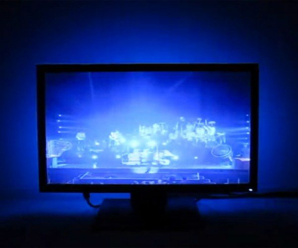 Adalight Kit Adds Ambilight-like RGB Tech to Any Monitor