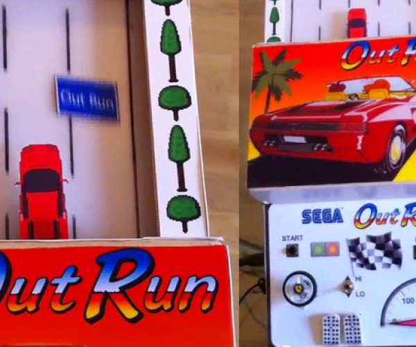 Analog OutRun: Arcade Racing Comes Full Circle