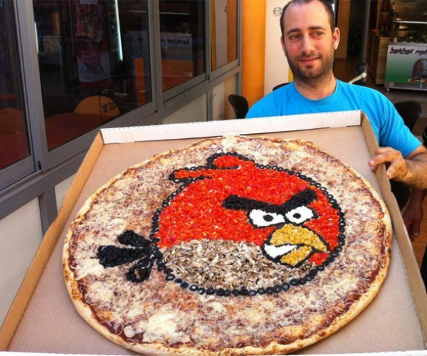 Angry Birds Pizza Needs More Ham on It