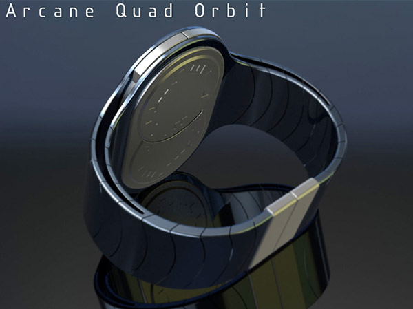 arcane quad orbit watch 4