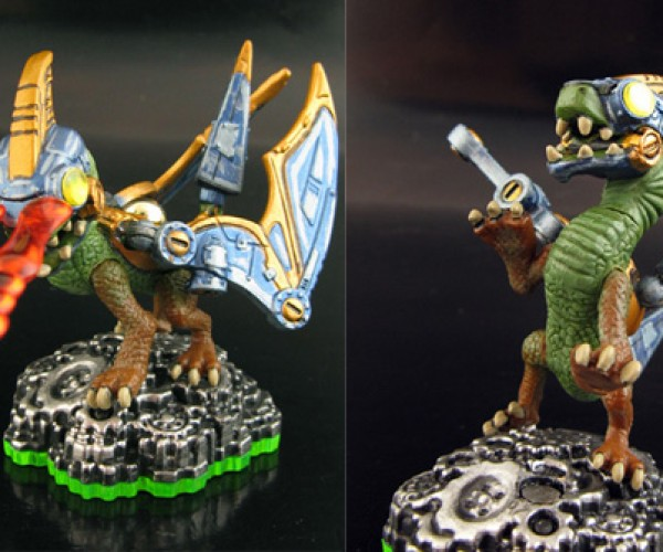 articulated skylanders spyros adventure figurines by jin saotome 7
