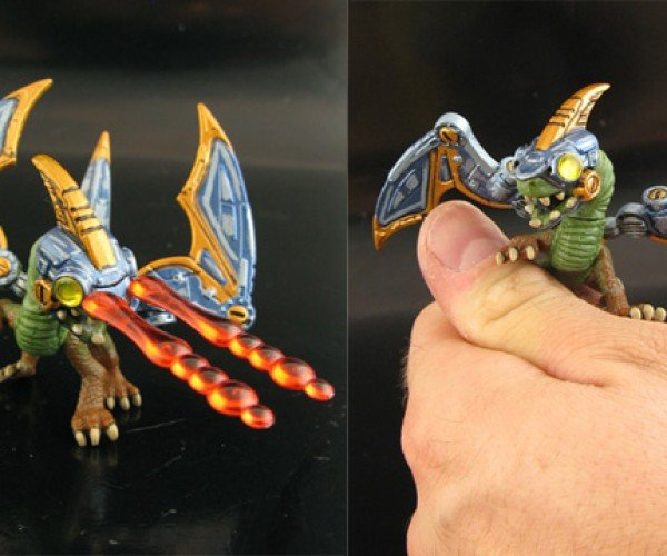 articulated skylanders spyros adventure figurines by jin saotome 8