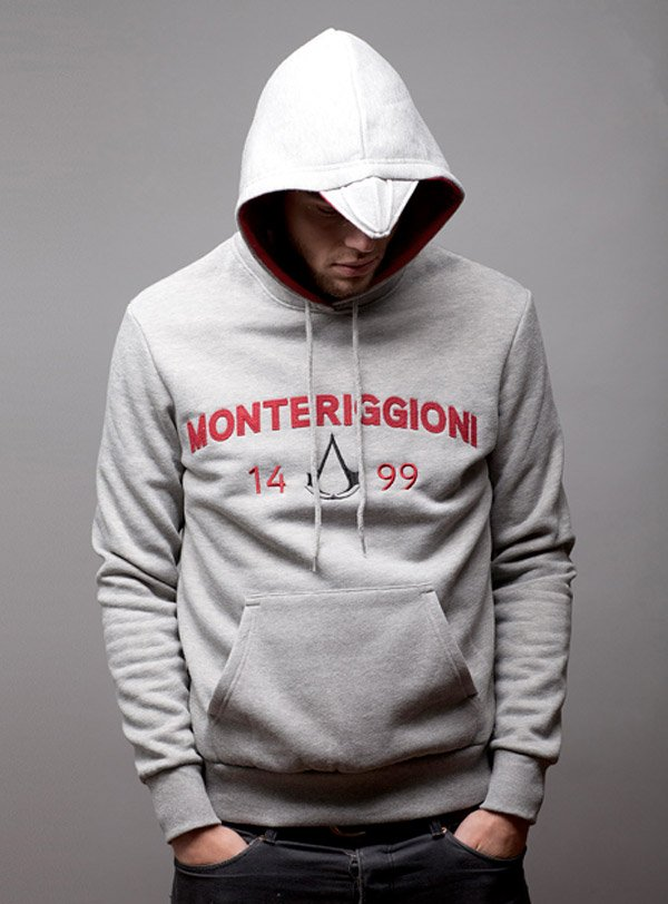 assassins creed monteriggioni hoodie by insert coin