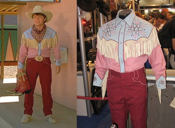 back to the future III marty mcfly cowboy