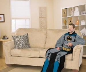 Batman Snuggie Blanket: for the Dork Knight in All of Us
