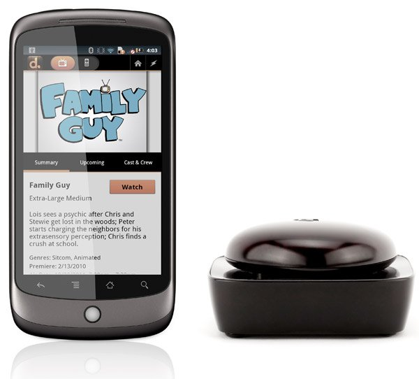 beacon android remote with phone