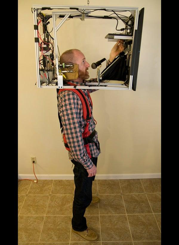 big head costume by dan rosenfeld aka guru ramen 2