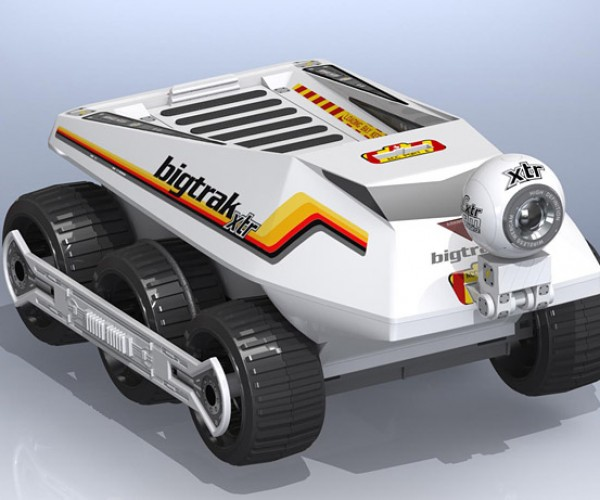 Bigtrak XTR R/C Truck to Get iPhone, Android Remote Control and More