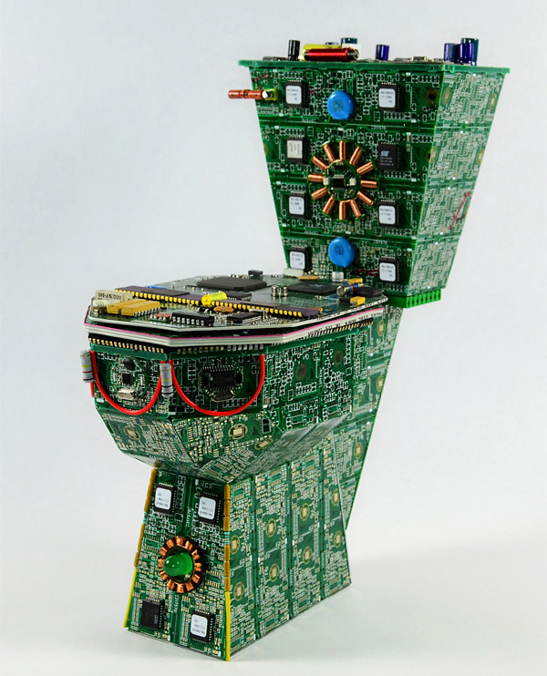 circuit board toilet 1