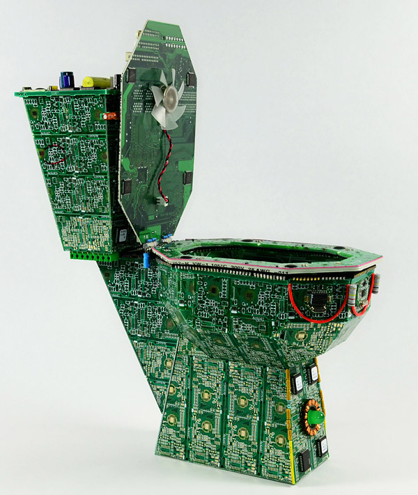 circuit board toilet 2