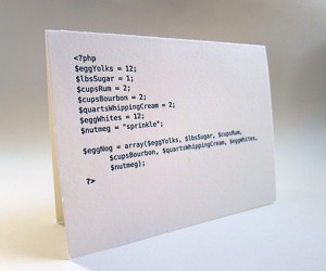 code cards holiday greeting cards by matt raw 2