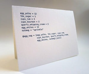code cards holiday greeting cards by matt raw 3